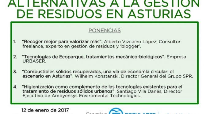 Jornada sobre Alternativas a la Gestión de Residuos en Asturias